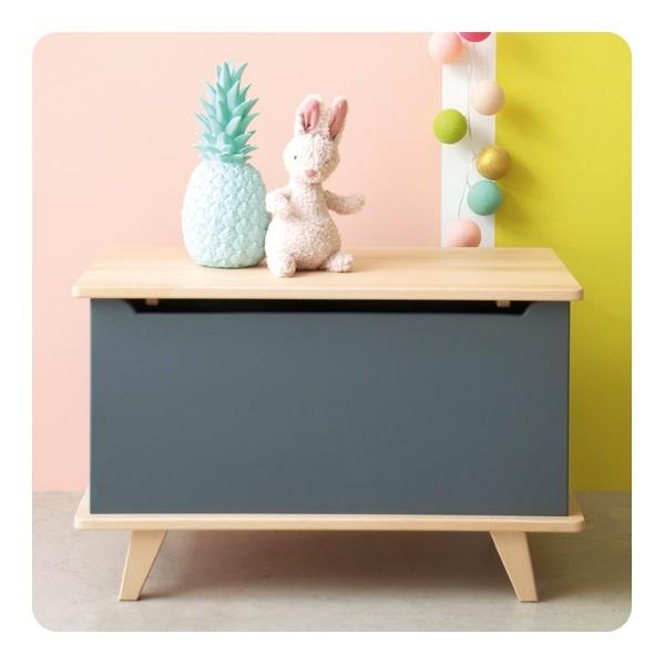 lidor speelgoedkist coffre jouets le coffre gris. Black Bedroom Furniture Sets. Home Design Ideas
