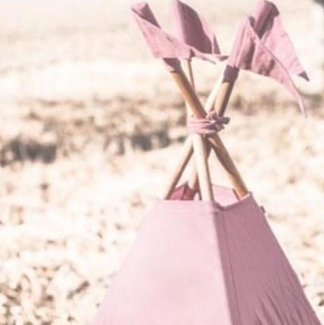 lidor tipi tent dusty pink. Black Bedroom Furniture Sets. Home Design Ideas