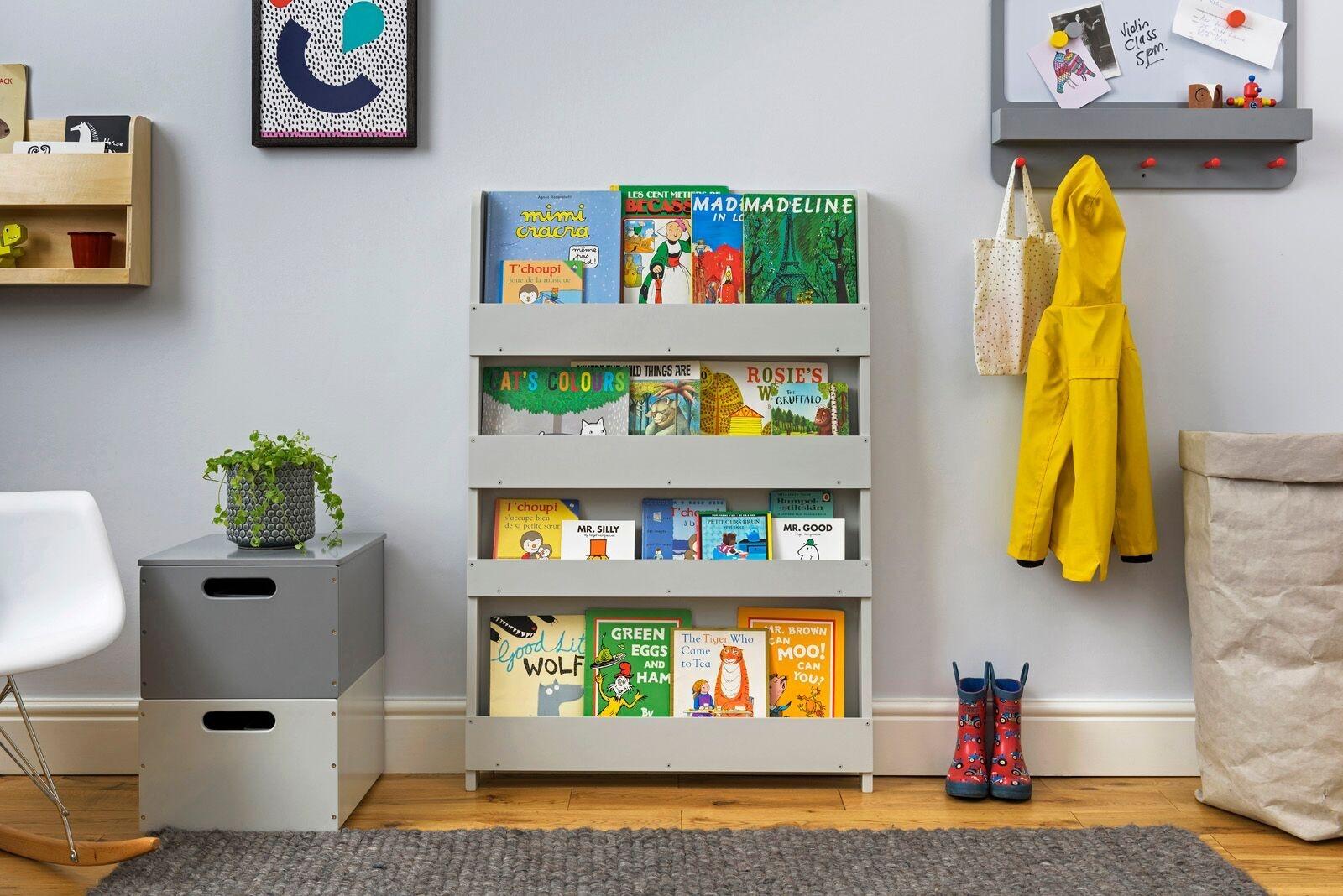 boekenkast grijs tidy books