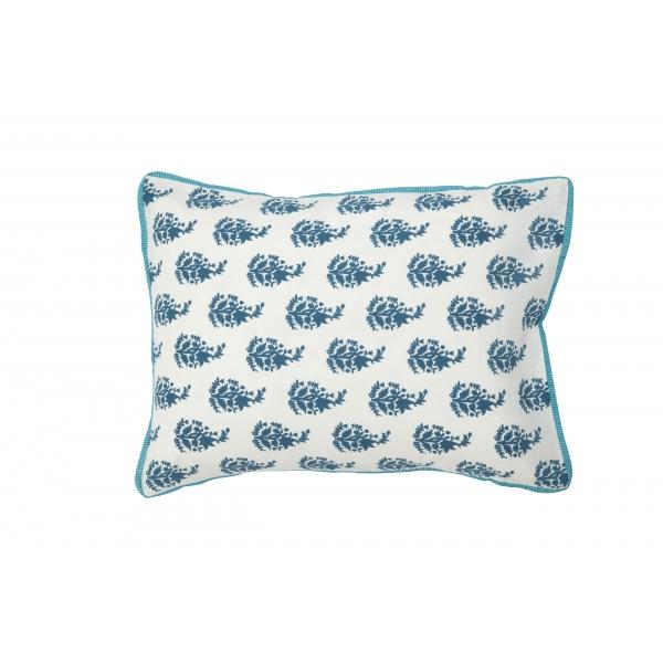 lidor kussenhoes klein white blue boutis. Black Bedroom Furniture Sets. Home Design Ideas