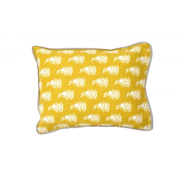 lidor kussenhoes klein yellow boutis. Black Bedroom Furniture Sets. Home Design Ideas