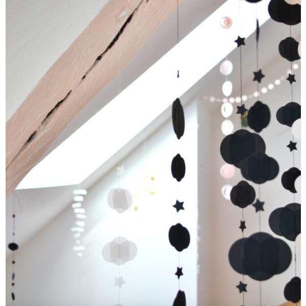 lidor wolk ster maan zwart l. Black Bedroom Furniture Sets. Home Design Ideas