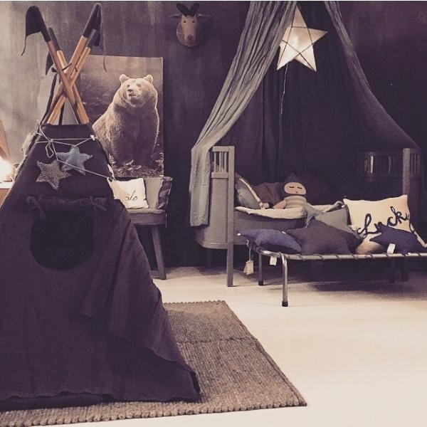 lidor tipi tent dark grey. Black Bedroom Furniture Sets. Home Design Ideas