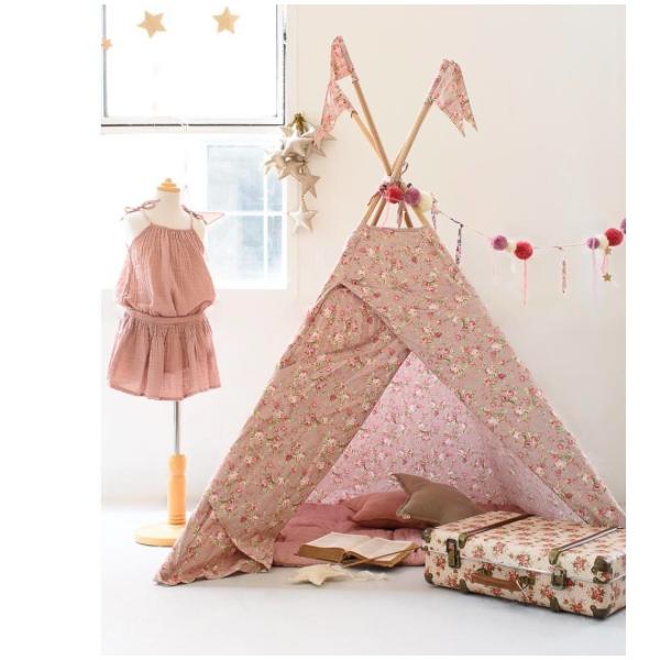 lidor tipi tent josephine dusty pink. Black Bedroom Furniture Sets. Home Design Ideas