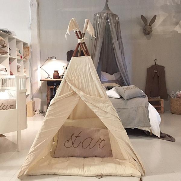 lidor tipi tent natural. Black Bedroom Furniture Sets. Home Design Ideas