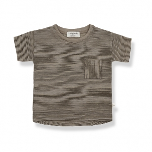 Bernat Short Sleeve T-Shirt Khaki van 1 + In The Family