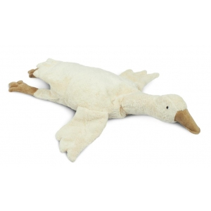 Cuddly Animal Goose Large Off White van Senger