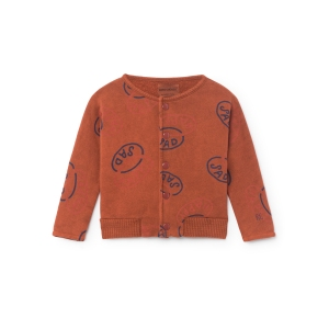 Happy Sad Buttons Sweatshirt van Bobo Choses