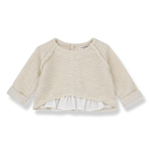Jutta Sweatshirt Natural van 1 + In The Family