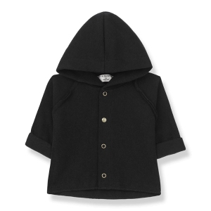 Palermo Hood Jacket Black van 1 + In The Family