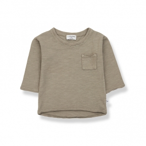 Pere Long Sleeve T-Shirt Khaki van 1 + In The Family