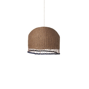 Braided Lampshade Rose van Ferm Living