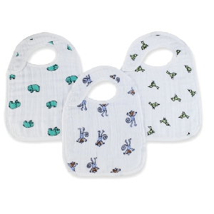 Snap Bibs 3pack Jungle Jam van Aden + Anais