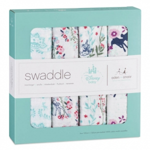 Swaddle Bambi 4pack Limited Edition van Aden + Anais