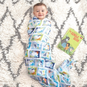 Swaddle Jungle Book 4pack Limited Edition van Aden + Anais
