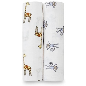 Swaddle Jungle Jam Classic 2 Pack van Aden + Anais