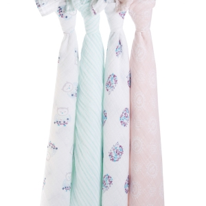 Swaddle Thisle 4pack van Aden + Anais