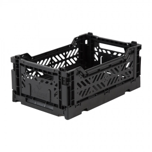 Folding Crate Black van Aykasa