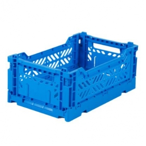 Folding Crate Blue  van Aykasa