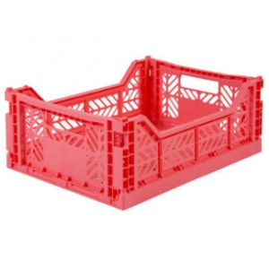 Folding Crate Dark Pink van Aykasa