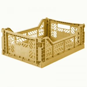Folding Crate Gold van Aykasa