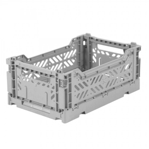 Folding Crate Grey van Aykasa