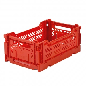 Folding Crate Red van Aykasa