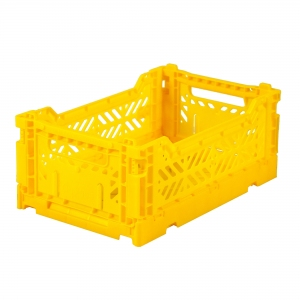 Folding Crate Yellow van Aykasa