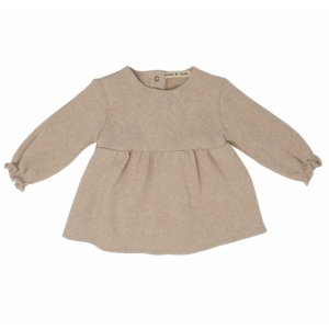 Girl Shirt Naturale van Babe & Tess