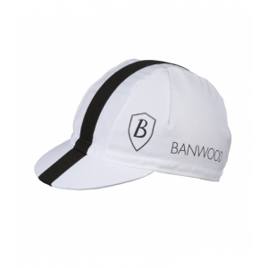 White Cycling Cap  van Banwood