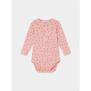 All Over Stars Long Sleeve Body  van Bobo Choses