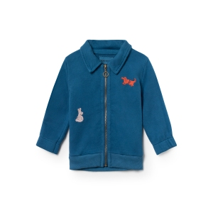 Animal Zipped Sweatshirt van Bobo Choses
