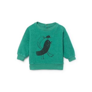 Bird Sheep Skin Fleece Sweatshirt van Bobo Choses