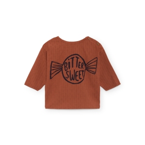 Bitter Sweet Round Neck Shirt van Bobo Choses