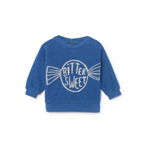Bitter Sweet Sheep Skin Fleece Sweatshirt van Bobo Choses