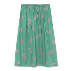 Dogs Midi Skirt van Bobo Choses