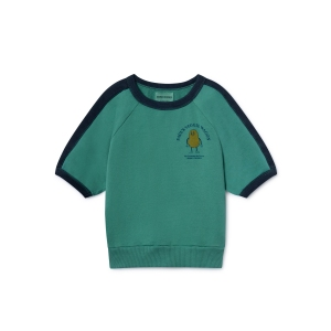 Pomme De Terre Sleeve Sweatshirt 3/4 Sleeve van Bobo Choses
