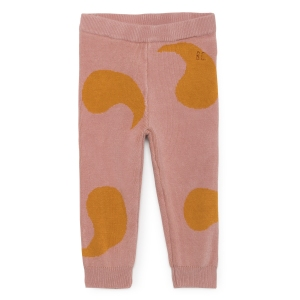 Rose Knitted Trousers van Bobo Choses