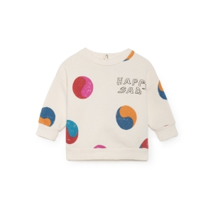 Sweatshirt Yin Yang Round Neck  van Bobo Choses