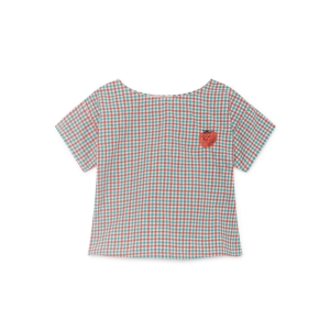 Vichy Short Sleeve Shirt van Bobo Choses