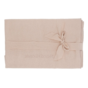 Raw Silk Swaddle Evening Sand van Bonet Et Bonet