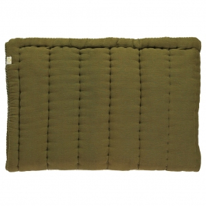 Hand Quilted Blanket Moss van Camomile London