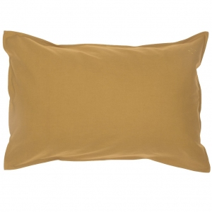 Organic Pillow Case Ochre Standard van Camomile London