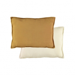 Padded Cushion Light Ochre/Champagne van Camomile London