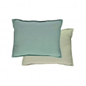 Padded Cushion Light Teal/Mint van Camomile London