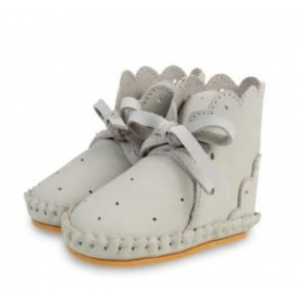 Pina Jolie Light Grey Nubuck van Donsje