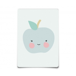 Postcard Apple van Eef Lillemor