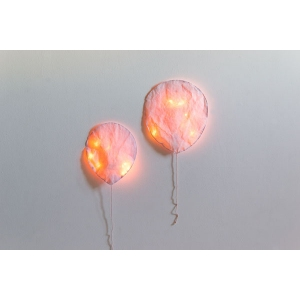 Paper Light Pink Balloon van Ekaterina Galera