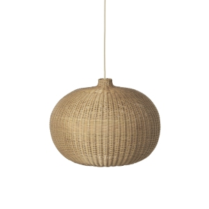 Braided Lamp Belly Shade + Cord And Lampholder van Ferm Living