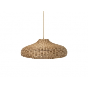 Braided Lampshade Natural + Cord And Lampholder van Ferm Living